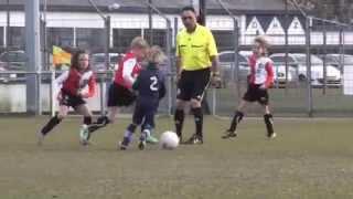 Feyenoord F4 - Feyenoord F5 kwartfinale KNVB 2013