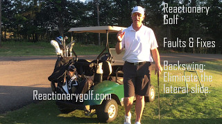 Faults & Fixes - Eliminate the Backswing Slide