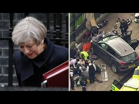 PM Theresa May evacuated from Parliament