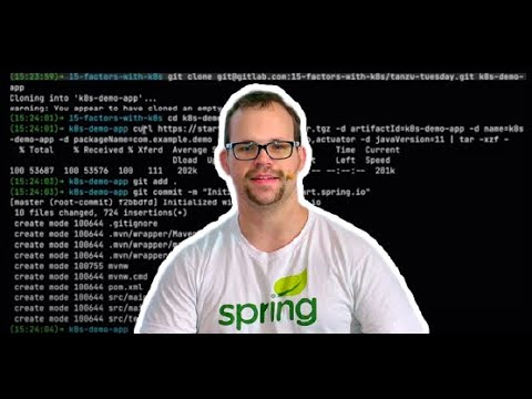 Tanzu.TV/code - Kubernetes and Spring: a Rom-Com for the Ages with Josh Long
