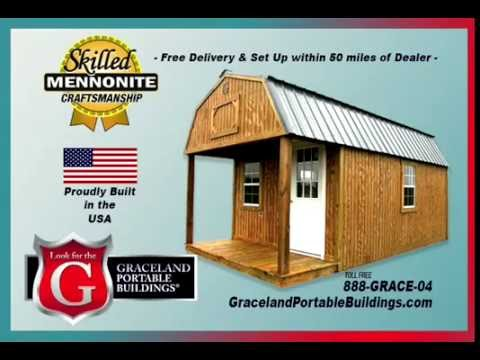 RV World TV - Graceland Portable Buildings