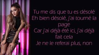 Ariana Grande  ~ Break Your Heart Right Back ft. Childish Gambino ~ Traduction Française