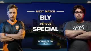 Bly vs SpeCial ZvT - Round of 16 - WCS Austin 2018 - StarCraft II