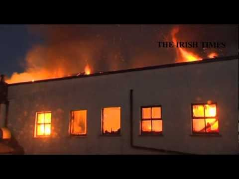 Dublin Fire Brigade tackle blaze in Ranelagh