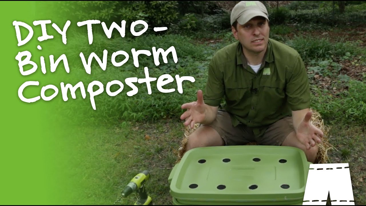 how to make a vermicompost bin