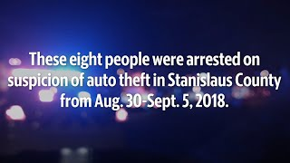 See the auto theft suspects from Aug. 23-Sept. 9