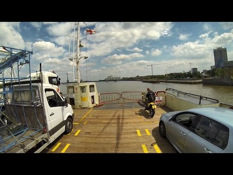 Woolwich Ferry Crossing, London, UK