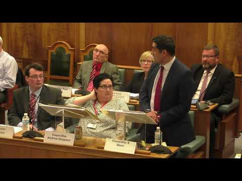 Bury Council - Full Council Meeting -  11th April 2018