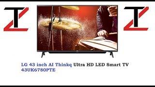 LG AI Thinkq 43UK6780PTE REVIEW | LG KA AI TV | FULLSMART TV | AI TV