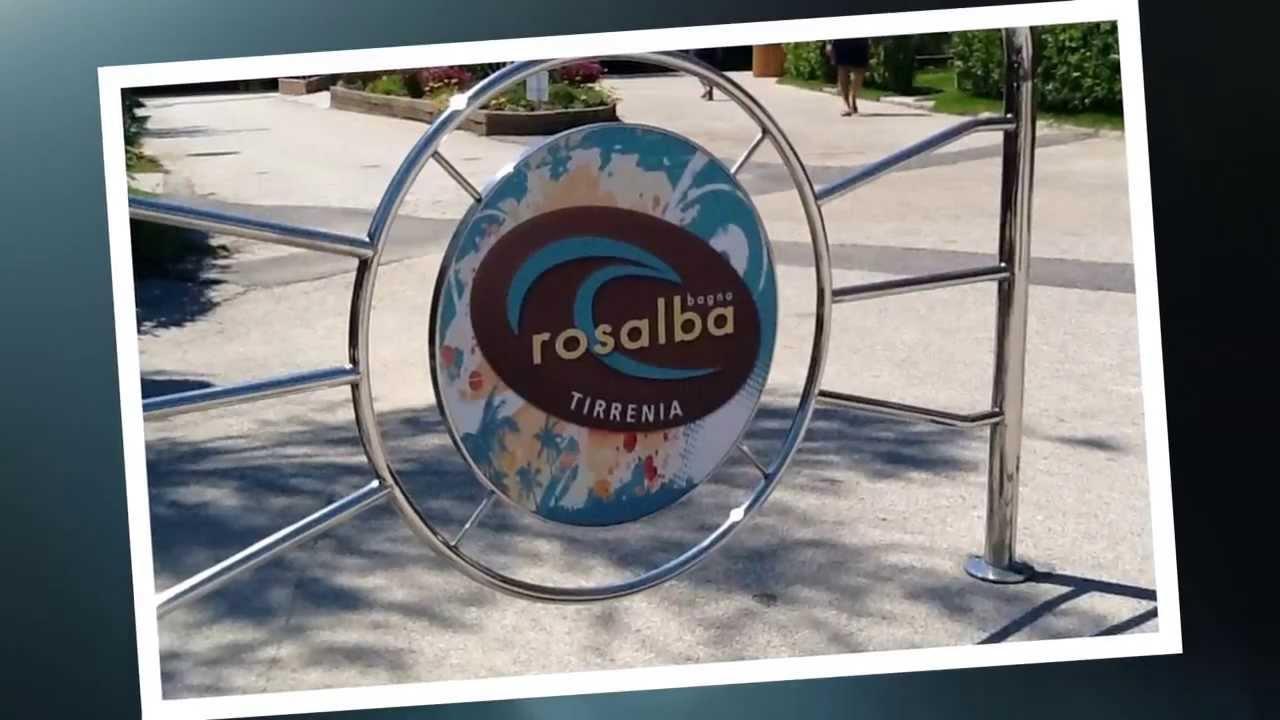 Mare Toscana vacanze al Bagno Rosalba Tirrenia affitto appartamenti sul mare - YouTube