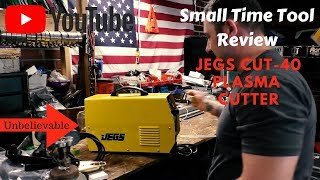 Jegs Cut-40 plasma cutter review. SO IMPRESSED!!!