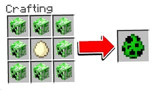 10 SECRET THINGS TO CRAFT IN MINECRAFT!