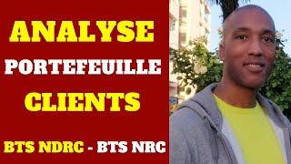 BTS NRC (Gestion) - L'analyse du portefeuille clients : Cas Napé