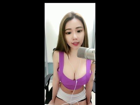 20200514 Jenna 周甄娜 低胸 性感直播 Part 4