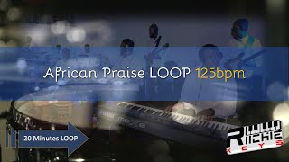 **RE-UPLOADED** African Praise LOOP - 125 BPM || Practice Tool || LIVE use