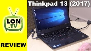 Lenovo Thinkpad 13 2017 Review - Not as affordable as last year's model