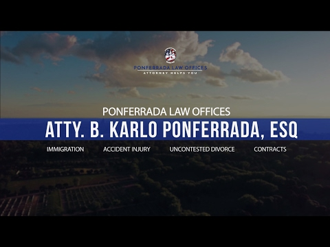 Ponferrada Law Offices - Attorney Helps You | US Immigration Services