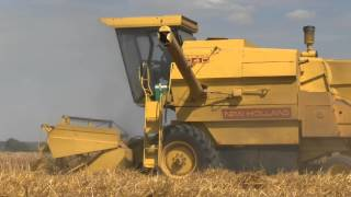 Farm Machinery At Work In Europe, Summer 2015