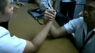 Arm Wrestling - JM vs Patrick
