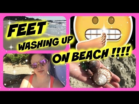 Feet Washing up on the Beach! || My Life with Chronic Pain