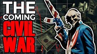Why Bitcoin & Stocks Crashing will Trigger Civil War