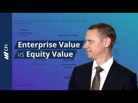 Enterprise Value vs Equity Value - Tutorial | Corporate Finance Institute
