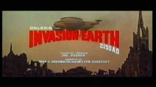 Daleks' Invasion Earth: 2150 A.D. Cinema Trailer