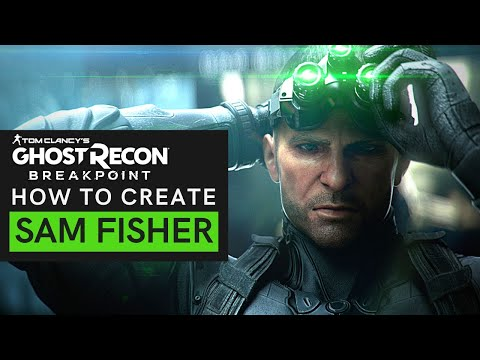 Ghost Recon Breakpoint - SAM FISHER Build | Outfit And Loadout Guide