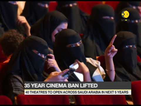 After 35 years of ban Saudi Arabia's first movie theatre to open on 18 April