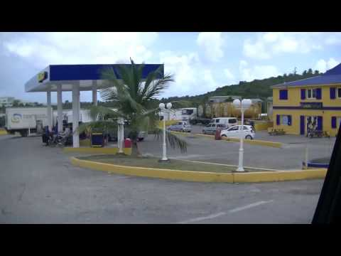 Road to Philipsburg St. Maarten