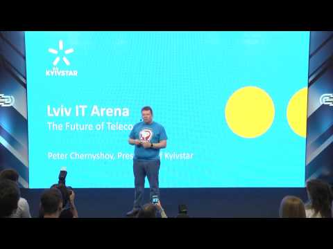 Lviv IT Arena 2016: Peter Chernyshov