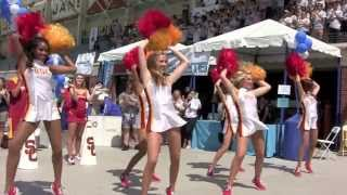 Fight On! USC Song Girls Dance, Trojan Marching Band Sings at 35th Annual SWIM WITH MIKE