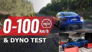 2019 Subaru BRZ 0-100km/h & dyno test (manual)