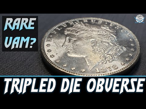 RARE TRIPLED Die Obverse Morgan Silver Dollar!