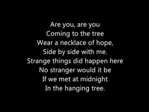 The hunger games The Hanging Tree Lyrics