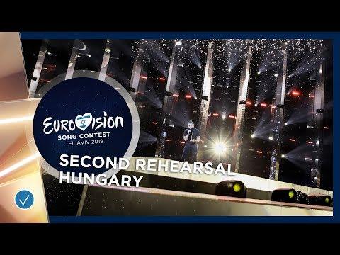 Hungary 🇭🇺 - Joci Pápai - Az én apám - Exclusive Rehearsal Clip - Eurovision 2019