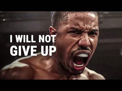 I WILL NOT GIVE UP - Powerful Motivational Speech