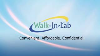 No Health Insurance? No Problem! Walk-In Lab (Blue)