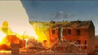 German  V-1 Missile Explosion Test
