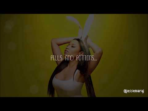 Nicki Minaj - Pills N Potions (Lyrics Video)