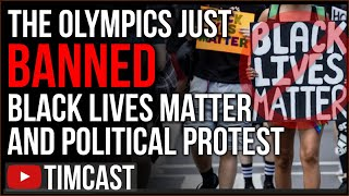 Olympics BANS Black Lives Matter Protest, Kneeling BANNED, People Are Tired Of Antifa And BLM Riots