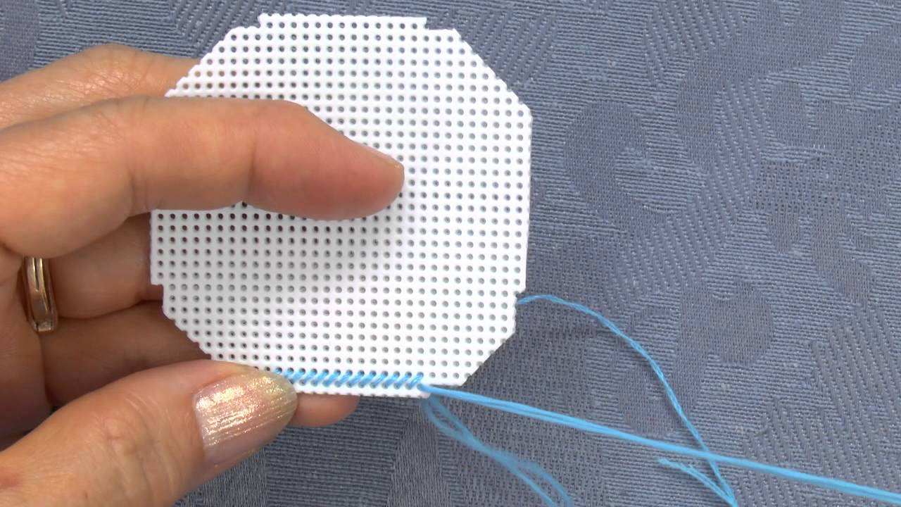 Make A Card Featuring A Cross Stitch Christmas Ornament