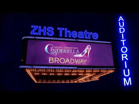 Commercial for Zimmerman High School presents Cinderella