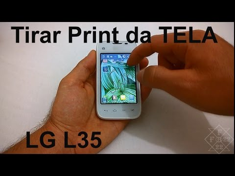 LG L35 - Como Tirar ScreenShot [Captura de Tela]