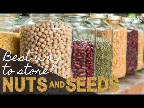 Best Way To Store Nuts And Seeds How to keep nuts and seeds from spoiling