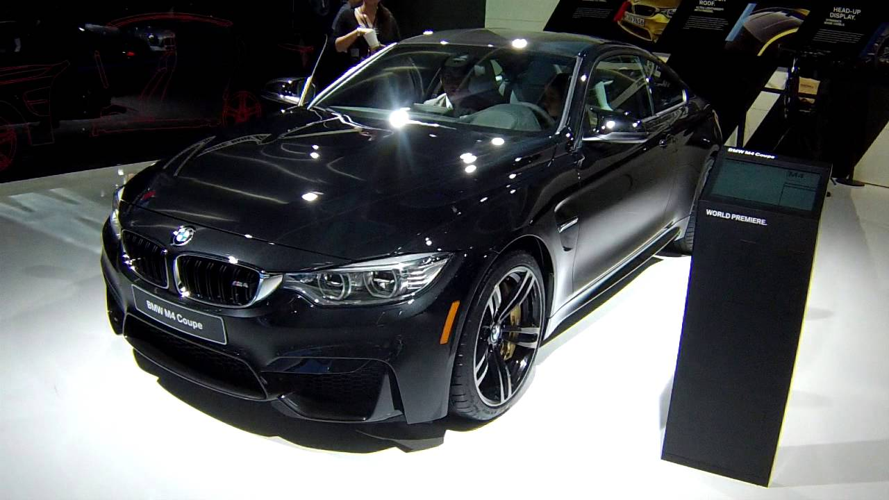 2015 BMW M3 and M4 at the 2014 NAIAS Detroit Auto Show   YouTube