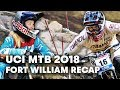 Get the full highlights of the Fort William downhill stop. | UCI MTB 2018