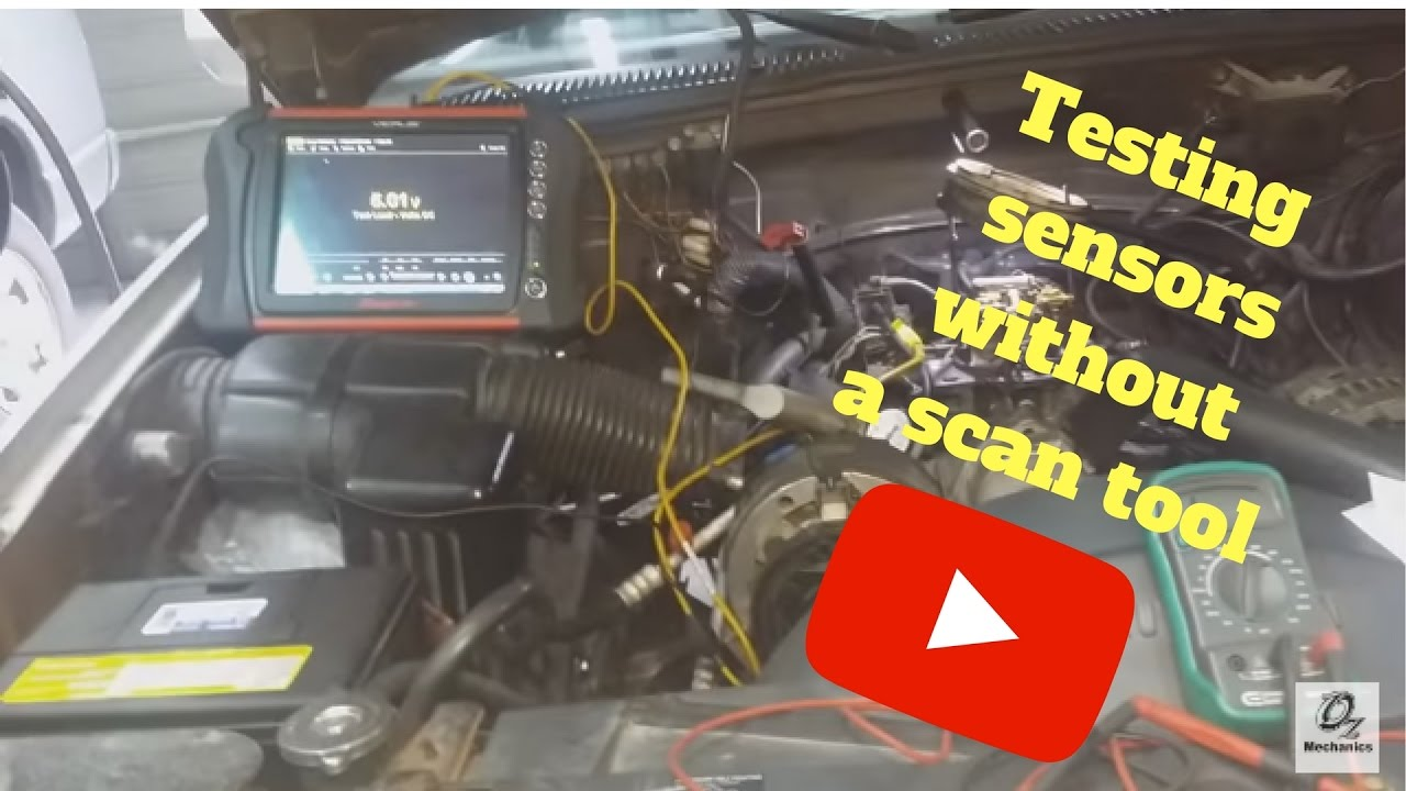 How To Test Sensors Without A Scan Tool Tbi System Youtube 94 S10 Iac Wiring Diagram
