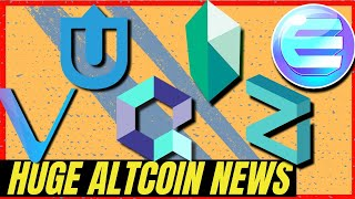 HUGE CRYPTOCURRENCY NEWS! Quant Network on Kyber Network | Vechain | Enjin | Zilliqa | Uptrennd