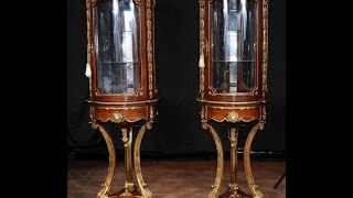 French Vitrines Glass Display Cabinets Bijouterie